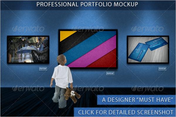 Creative Portfolio Mockup