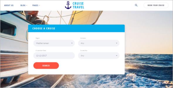 Creative Tourism Website Template