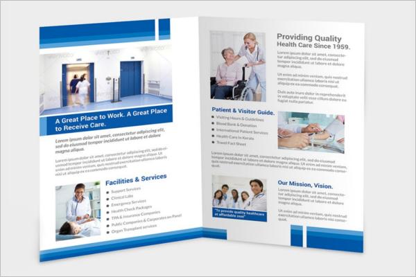 Customizable Healthcare Brochure Template