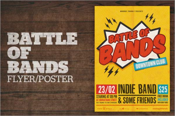 Custom Band Poster Design