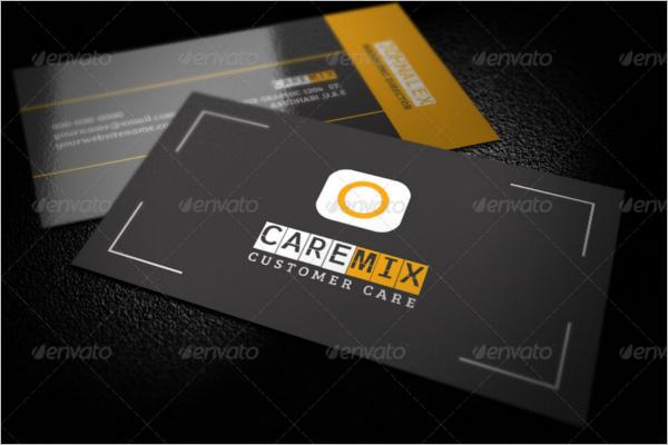 Customer Care Business Card