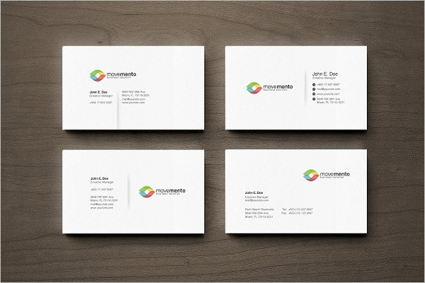 Customizable Business Card Design
