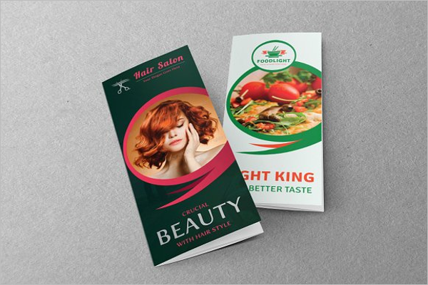 Customizable Hair Salon Brochure Template