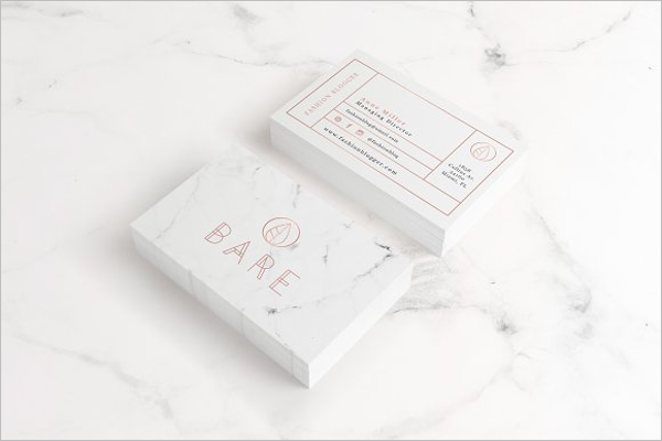 Customize Business Card Template