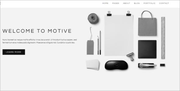 Customize Portfolio Website Template