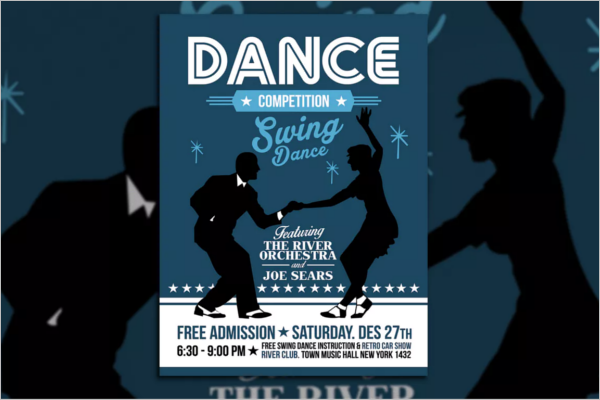 Dance Competition Poster Template