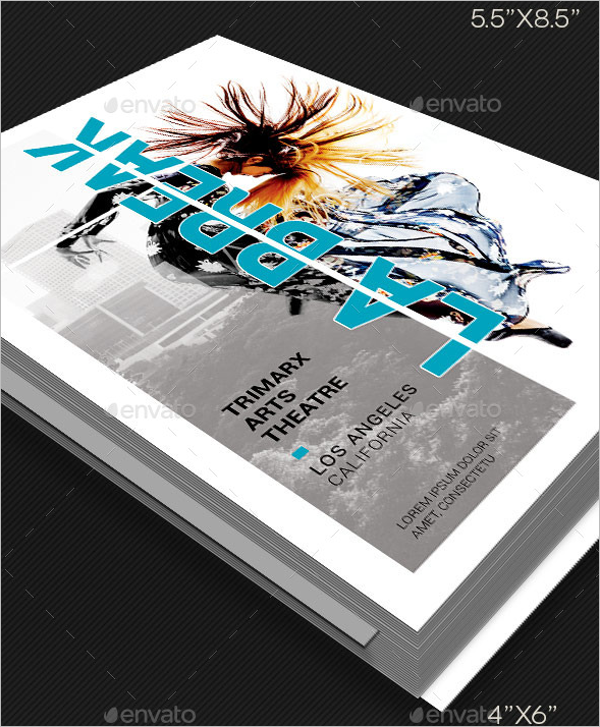 Dance Theater Flyer Poster Template
