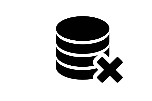 Database Delete Icon