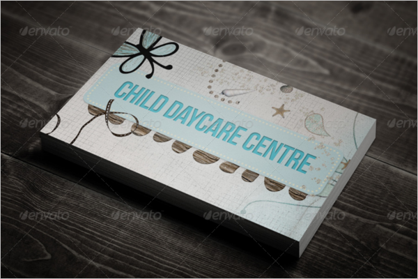 Daycare Business Cards Ideas