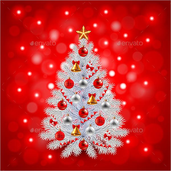 Decorated Christmas Tree Design