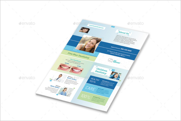 Dentist Office Flyer Template
