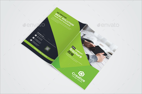 Digital Bi-Fold Brochure Template
