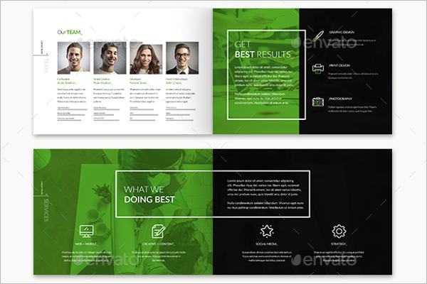 20 digital brochure templates free word examples designs for Electronic brochure templates