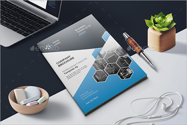Digital Marketing Brochure Template