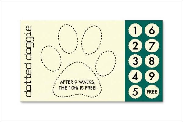 Dog Daycare Business Card Design