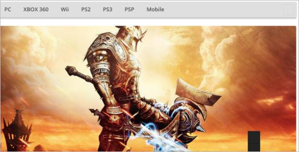 Drupal Gaming Theme