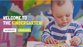 Kindergarten Drupal Themes