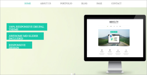 Drupal7 Theme for Business