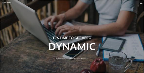 Dynamic Portfolio Website Template