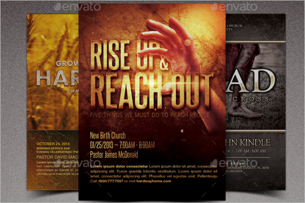 Easter Marketing Flyer Template