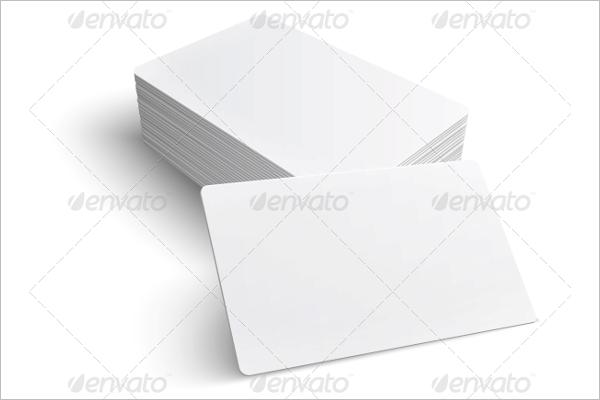 Editable Blank Business Card Template