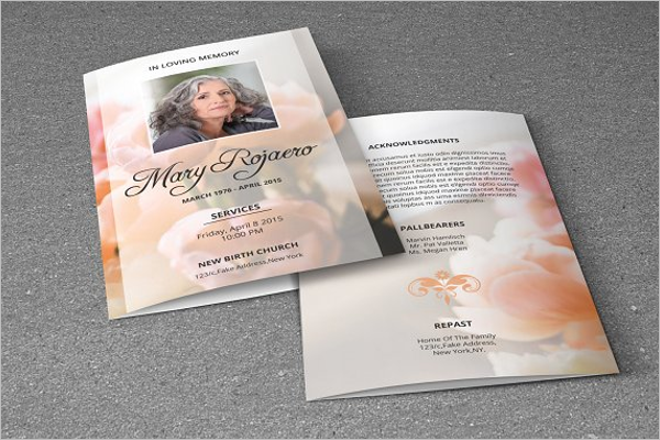 Editable Church Brochure Template