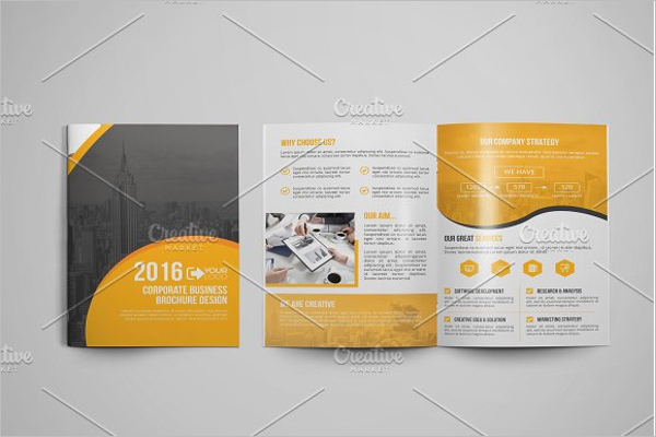 Editable Office Brochure Template