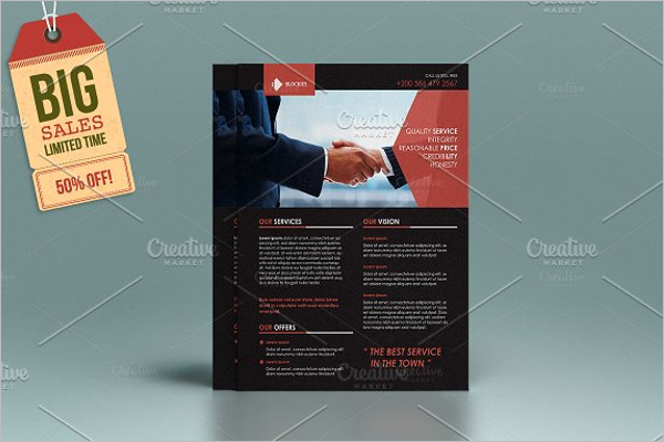 Editable Office Flyer Template
