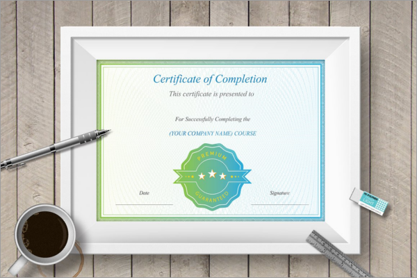 Editable School Certificate Template