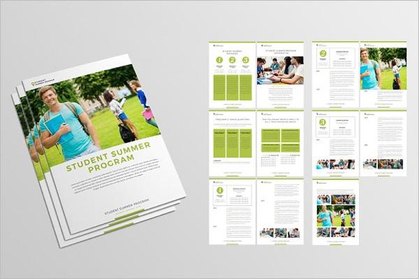 Education Brochure Template Psd