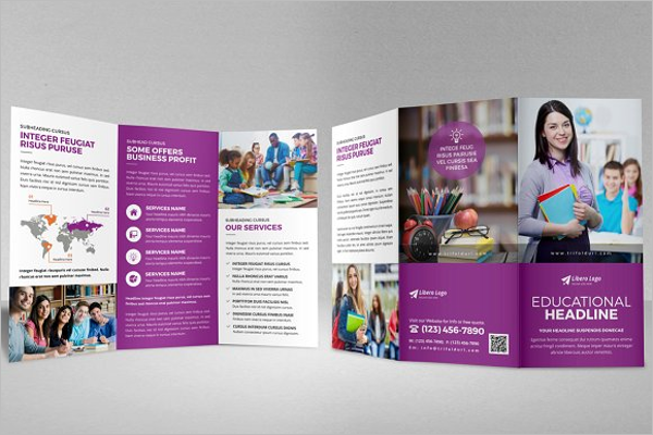 Education Trifold Brochure Design