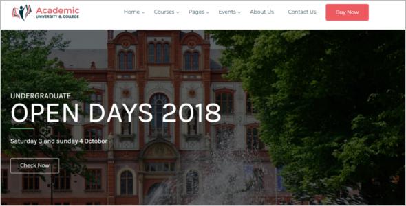 Education Website WordPress Theme