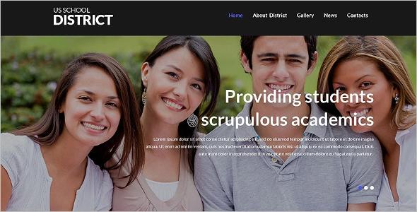 Education WordPress Theme Bootstrap