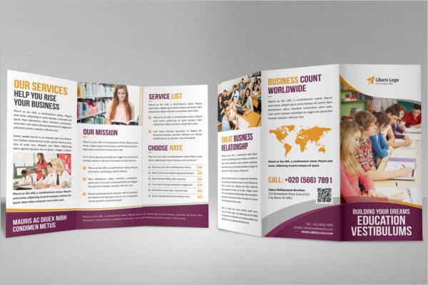 Educational Brochure Templates Word