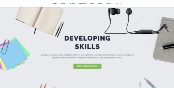 Educational Institute Website Template