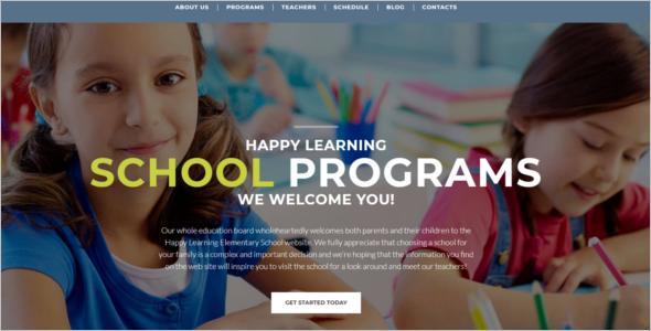 E learning WordPress Theme