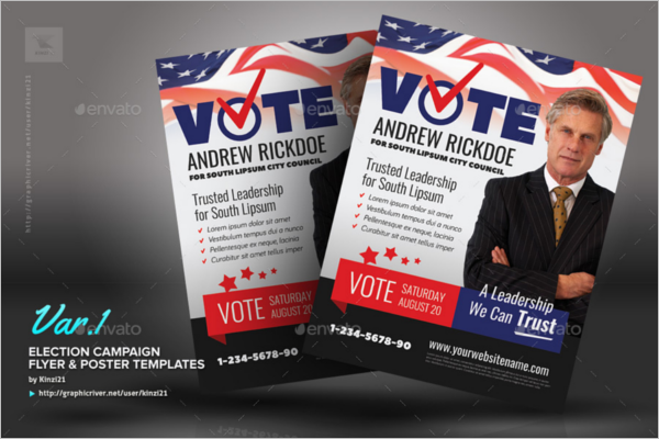 32 Election Poster Templates Free Word Psd Formats
