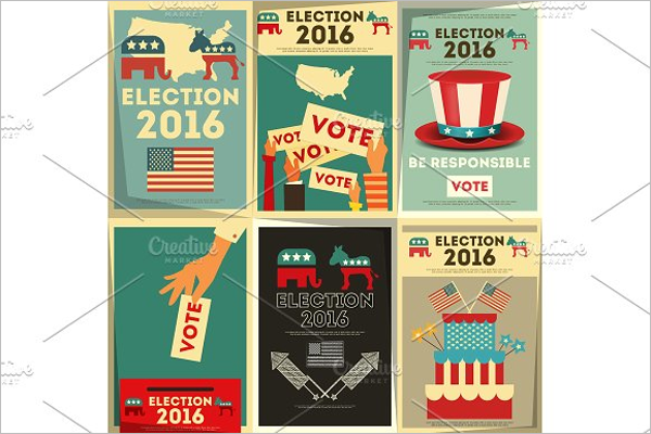 Election Poster Design Template