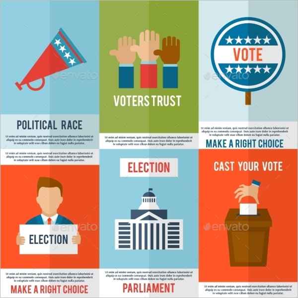 Election Poster Set Template