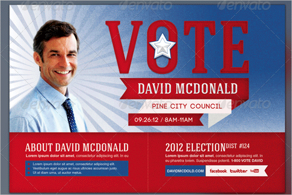 Election Poster Template PSD
