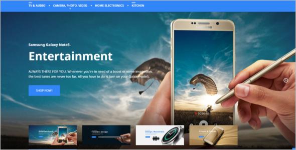 Electro Magento Website Theme