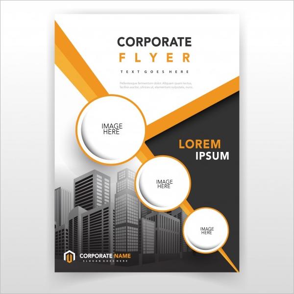Elegant Office Flyer Template