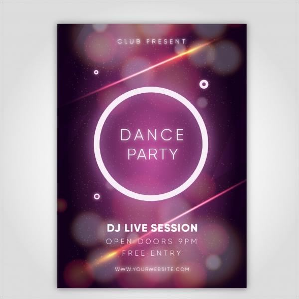 Elegant Party Poster Design