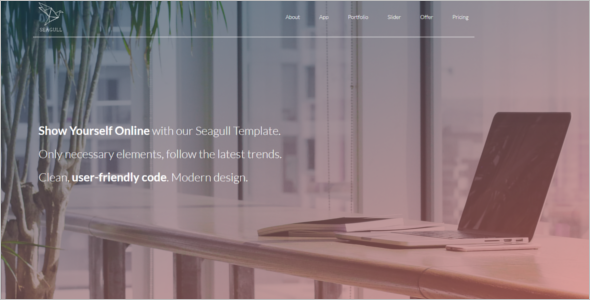 Elegant Website Template