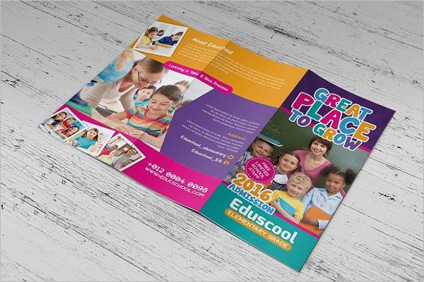 elementary school brochure template - 30 educational brochure templates free psd word designs