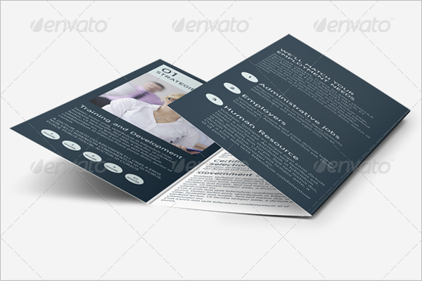 Employee Recruitment Brochure Design