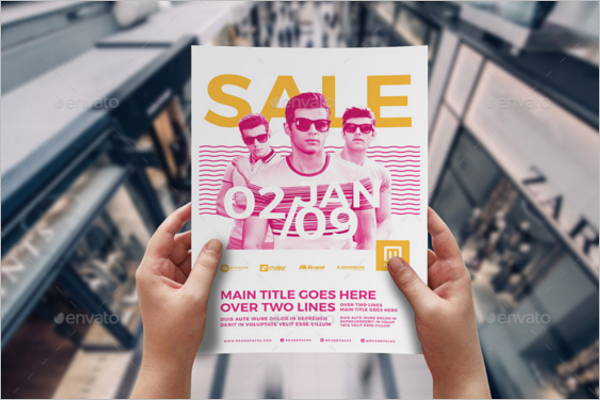 Event Advertising Poster Template