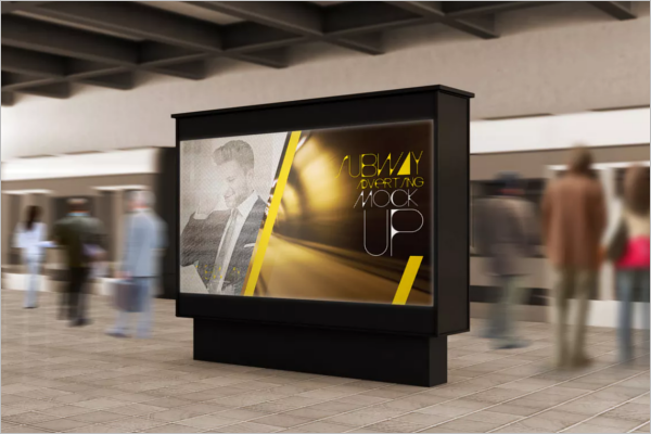Example Of Advertisement Poster Template