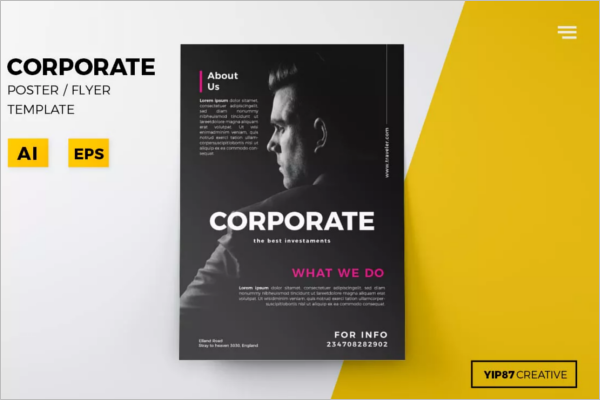 Example Of Business Poster Design