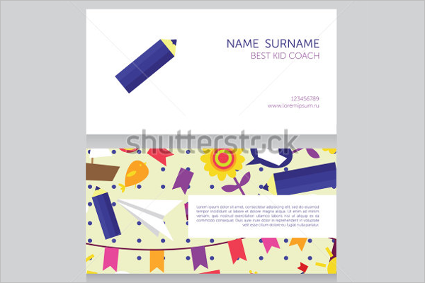 Family Day Care Business Cards